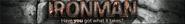 Ironman lobby banner