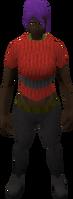 Retro striped sweater (female)