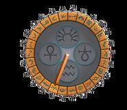 Menaphos Sundial Alphabet