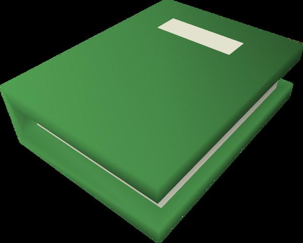 File:A handwritten book (The Prisoner of Glouphrie) detail.png