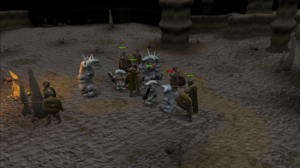 Ice troll battle
