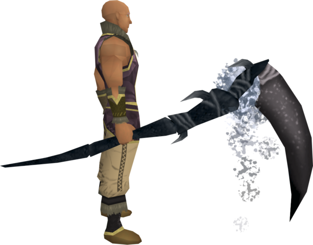 File:Noxious scythe (Third Age) equipped.png
