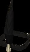 Chompy bird hat (yeoman) detail