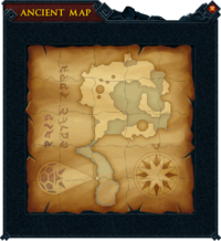 Map (Hero's Welcome) interface