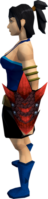 File:Red dragonhide shield equipped.png