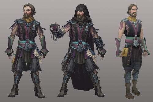 The Iron Link concept art