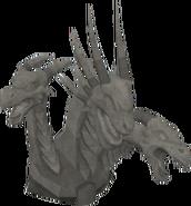 Basic King Black Dragon statue
