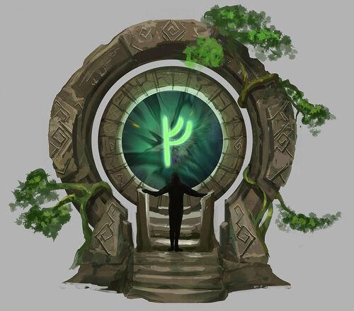 World Gate concept art