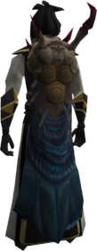 Abomination cape equipped