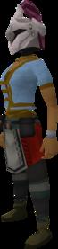 Rune heraldic helm (Fairy) equipped