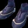 Splitbark boots detail