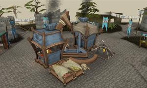 Gielinor Games preparation station