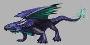 Celestial Dragon concept art