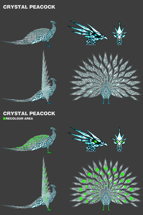 Crystal Peacock design a pet news image
