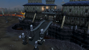 Dark Warriors' Fortress entrance