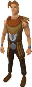 Armadylean ceremonial robe outfit equipped