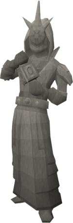 Basic mage statue