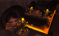 Placing TokKul in the Sacred Lava.png