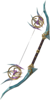 Attuned crystal bow detail