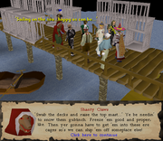 Shanty Claws at Karamja Docks