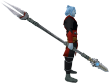 Augmented sunspear (melee) equipped