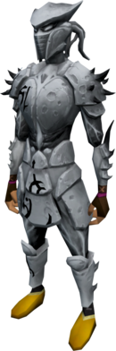 Sirenic armour set (Third Age) equipped