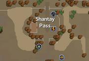 Shantay Pass map