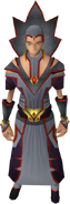 Envoy of Chaos outfit equipped (female)