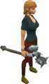 Gorgonite maul equipped.png
