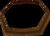 Brown headband detail