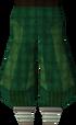 Green elegant legs detail