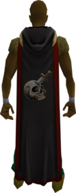 Hooded slayer cape (t) equipped