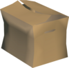 Empty box detail