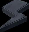 Stone shape (lightning) detail