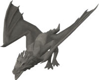 Basic dragon statue