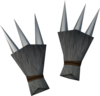 Werewolf claws (grey, female) detail