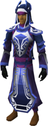 Enchanted robes equipped