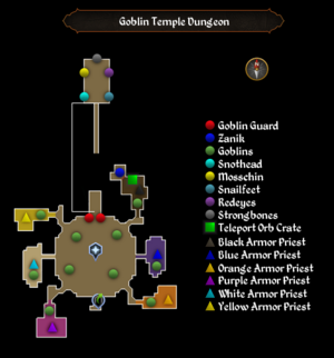 Goblin Temple map
