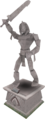 2006 Pyramid Plunder mummy statue.png