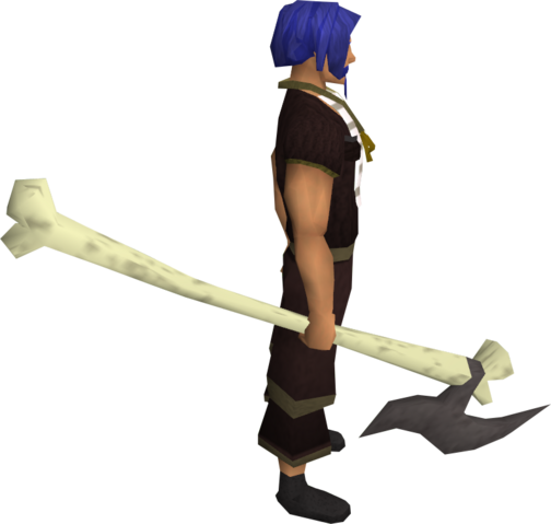 File:Bone spear equipped.png