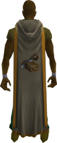 Hooded construction cape (t) equipped