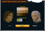 Makeover interface