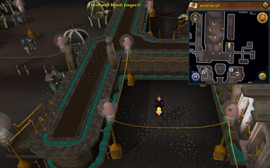 Scan clue Dorgesh-Kaan lower level south-east of marketplace