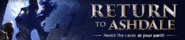 Return to Ashdale lobby banner