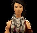Chic scarf (white)