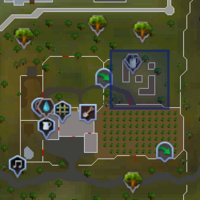 South Falador Teleport location