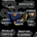 Chaos Tunnels resource dungeon entrance location.png