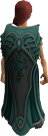 Clan Meilyr cape equipped