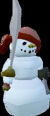 Snowman - Pirate