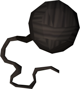 Ball of black wool detail.png
